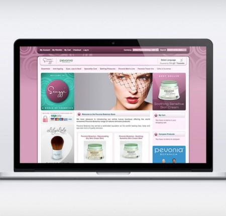 Senzzi Online Cosmetics Store